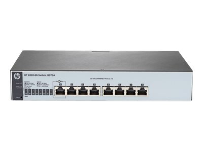 HPE 1820-8G Switch 8-porte Gigabit
