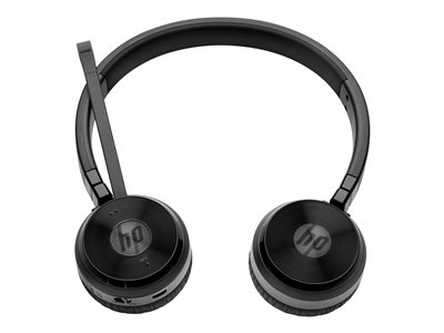 HP UC Wireless Duo Trådløs Sort Headset