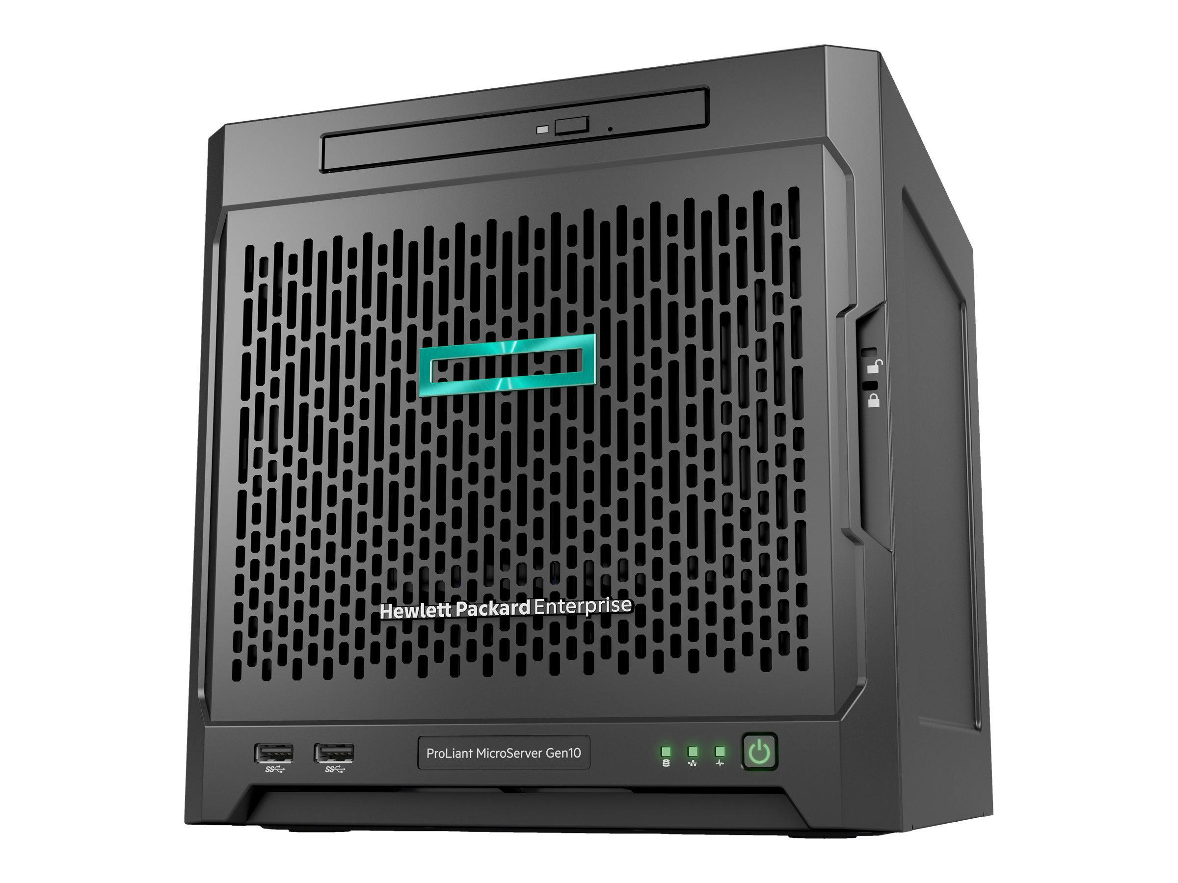 HPE ProLiant MicroServer Gen10 - ultra micro tower - Opteron X3421 2.1 GHz - 8 GB