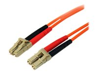 StarTech.com Câble fibre optique duplex multimode 50/125 OM2 de 3 m - 50FIBLCLC3