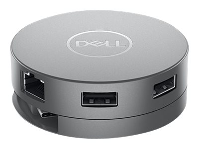 Dell Mobile Adapter DA310 - docking station - USB-C - VGA, HDMI, DP, USB-C - GigE