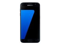 "Samsung Galaxy S7 - SM-G930F - smartphone - 4G LTE - 32 GB - microSDXC slot - GSM - 5.1"" - 2560 x 1440 pixels (577 ppi) - Super AMOLED - 12 MP (5 MP front camera) - Android - black"