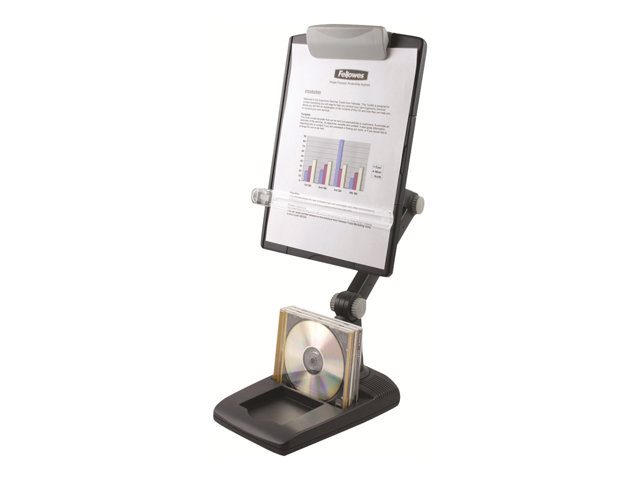 Image of Fellowes Flex Arm Copyholder, Weighted Base copy holder