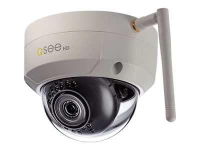 Q-See QCW3MP1D16 Network surveillance camera dome outdoor, indoor weatherproof