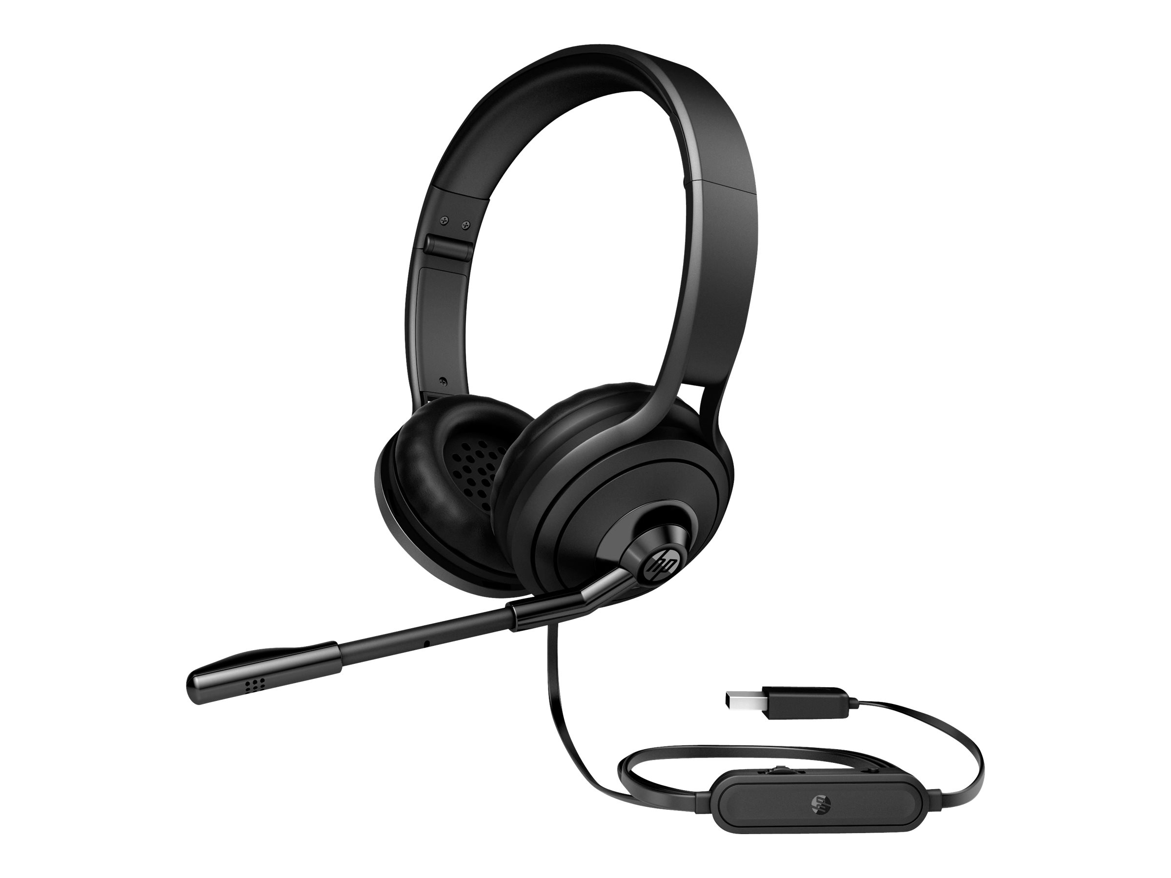 HP 500 - Headset - Full-Size - verkabelt - USB - für OMEN X by HP 17; HP 17