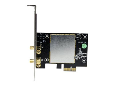 StarTech.com AC600 Wireless-AC Network Adapter - 802.11ac, PCI Express - Dual Band 2.4GHz / 5GHz PCIe Wireless Network Card (PEX433WAC11)