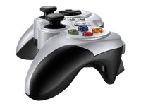 Logitech Wireless Gamepad F710 Gamepad PC Sort Hvid