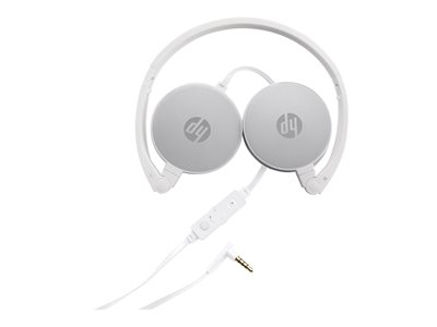 HP H2800 - Headphones with mic - on-ear - wired - 3 5 mm