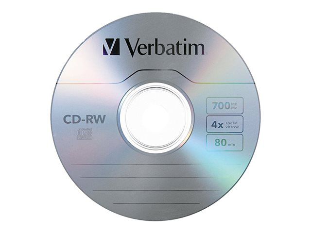 Verbatim - 25 x CD-RW ( 80 min ) 2x - 4x - spindle
