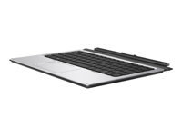 HP Advanced - Keyboard - with NFC - dock - US - dark gray - for Elite x2 1012 G1, 1012 G2; EliteBook x360 1012 G2