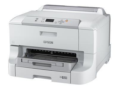 Epson WorkForce Pro WF-8090 - Printer - color - Duplex - ink-jet - A3/Ledger - 4800 x 1200 dpi - up to 34 ppm (mono) / up to 34 ppm (color) - capacity: 330 sheets - USB 2.0, Gigabit LAN, Wi-Fi(n)