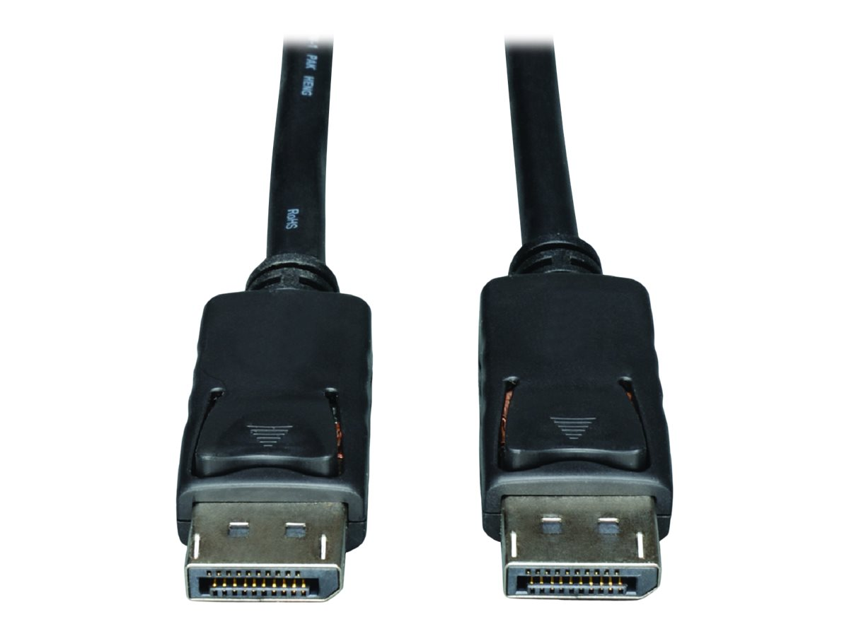 Tripp Lite 30ft DisplayPort Cable with Latches Video / Audio DP 4K x 2K M/M 30' - DisplayPort cable - 9.14 m