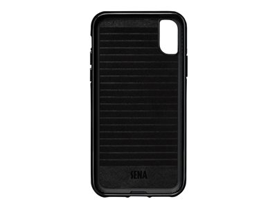 Sena Dean Lugano Leather Snap On Wallet - back cover for cell phone