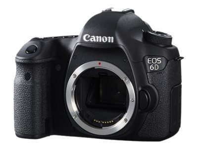 Canon EOS 6D Digital camera SLR 20.2 MP Full Frame 1080p body only Wi-Fi