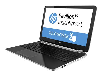 HP Pavilion TouchSmart 15-n068nr A4 5000 / 1.5 GHz Win 8 64-bit 4 GB RAM 500 GB HDD