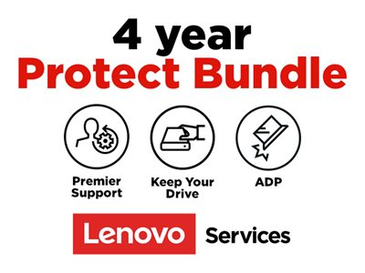 Lenovo On-Site + ADP + KYD + Premier Support Extended service agreement parts and labor