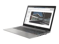 "HP ZBook 15u G5 Mobile Workstation - Core i7 8550U / 1.8 GHz - Win 10 Pro 64 bits - 8 Go RAM - 256 Go SSD HP Z Turbo Drive, NVMe, TLC - 15.6"" IPS 1920 x 1080 (Full HD) - Radeon Pro WX 3100 / HD Graphics 620 - Wi-Fi, Bluetooth - argent turbo - kbd : français"