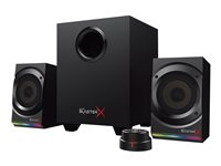 Creative Sound BlasterX Kratos S5 2.1-kanal Sort Højttalersystem