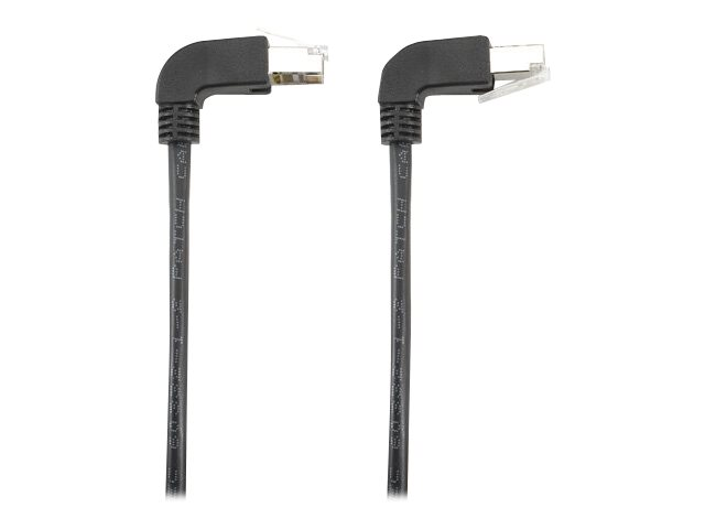Black Box SpaceGAIN Down to Up - patch cable - 1.8 m - black