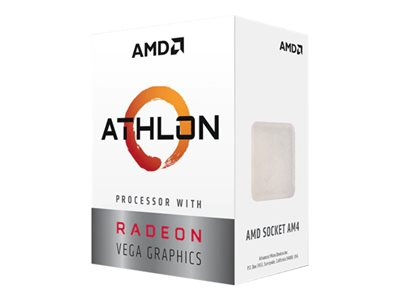 AMD CPU Athlon 3000G 3.5GHz Dual-Core  AM4