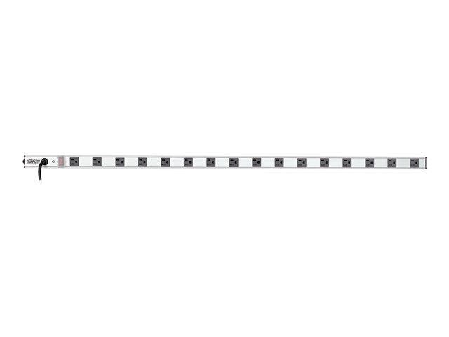 Tripp Lite 16-Outlet Vertical Power Strip, 15-ft. Cord, 5-15P, 48 in.