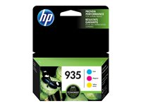HP 935 Combo Pack 3-pack yellow, cyan, magenta original ink cartridge