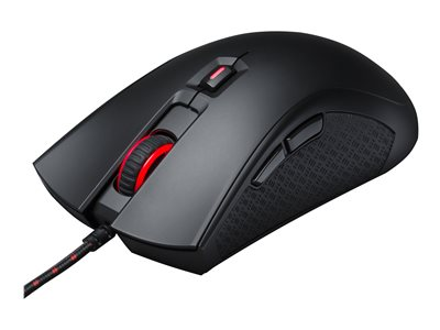 HyperX Pulsefire FPS Pro Optisk Kabling Sort