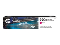 HP 990X - 182 ml - High Yield - magenta - original - PageWide - toner cartridge (M0J93AN) - for PageWide Color 755, MFP 774, MFP 779; PageWide Pro 750, 772, 777