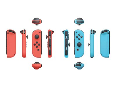 NINTENDO Joy-Con(Right) - Joy-Con gamepad(Left) - Game Pad - kabellos - Blau, Rot - für Nintendo Switch