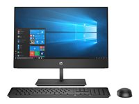 "HP ProOne 600 G4 - Tout-en-un - 1 x Core i3 8100 / 3.6 GHz - RAM 4 Go - HDD 1 To - graveur de DVD - UHD Graphics 630 - GigE, Bluetooth 5.0 - LAN sans fil: 802.11a/b/g/n/ac, Bluetooth 5.0 - Win 10 Pro 64 bits - moniteur : LED 21.5"" 1920 x 1080 (Full HD) - clavier : français"