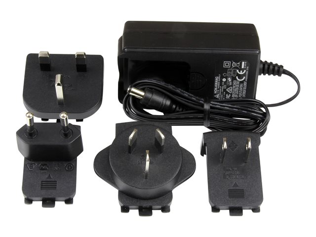 StarTech.com Universal Replacement Power Adapter - DC 9 Volts, 2 Amps Power Adapter (SVA9M2NEUA)