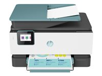 HP Officejet Pro 9015 All-in-One - Imprimante multifonctions - couleur - jet d'encre - Legal (216 x 356 mm) (original) - A4/Legal (support) - jusqu'à 32 ppm (copie) - jusqu'à 32 ppm (impression) - 250 feuilles - USB 2.0, LAN, Wi-Fi(n), hôte USB