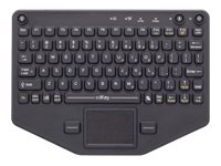iKey BT-80-TP Keyboard with touchpad backlit Bluetooth