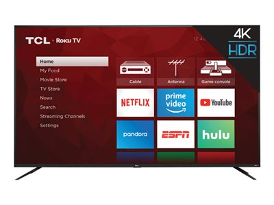 TCL 75S425 75INCH Class (74.5INCH viewable) 4 Series LED TV Smart TV Roku TV