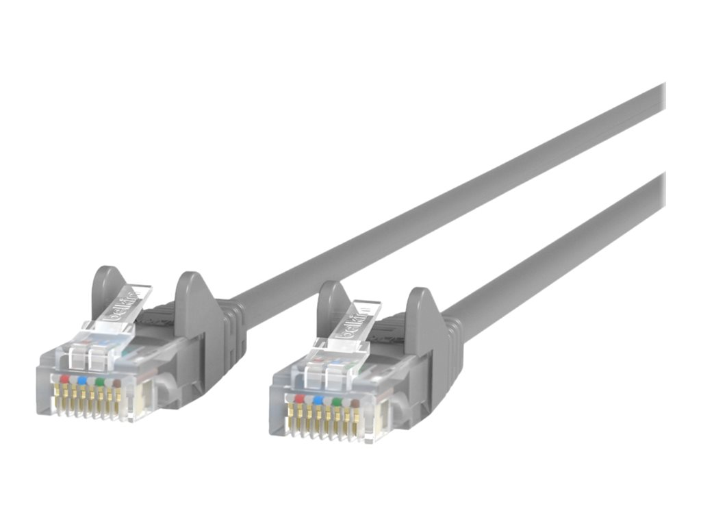 Belkin patch cable - 2 m - gray