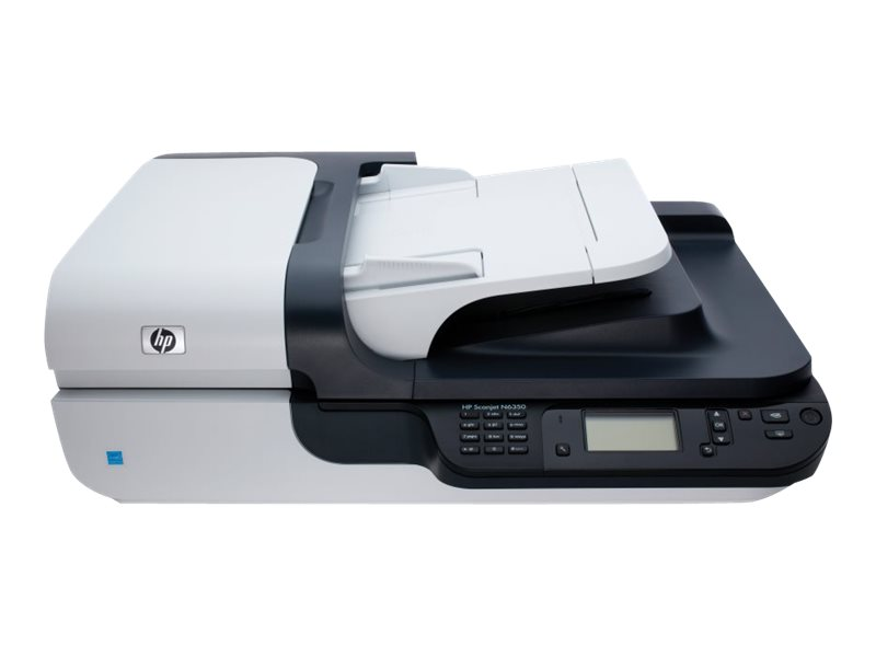 Hp Scanjet N6350 Networked Document Flatbed Scanner Www Shi Com