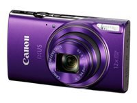 Canon IXUS 285 HS - Digital camera - compact - 20.2 MP - 1080p / 30 fps - 12x optical zoom - Wi-Fi, NFC - purple