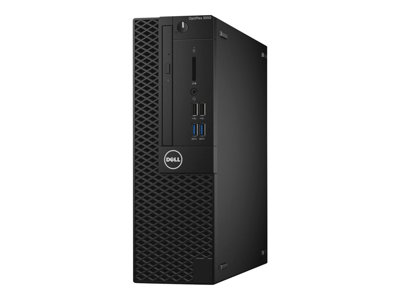 Dell OptiPlex 3050 - SFF - 1 x Core i5 7500 / 3.4 GHz - RAM 8 GB - SSD 128 GB - DVD-Writer - HD Graphics 630 - GigE - Win 10 Pro 64-bit - monitor: none - BTS