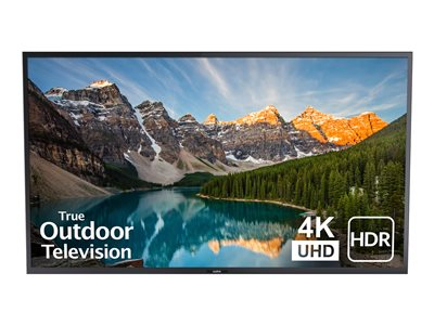 SunBriteTV SB-V-75-4KHDR-BL 75INCH Class Veranda Series LED TV outdoor full shade
