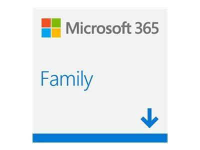 Image of Microsoft 365 Family - subscription licence (1 year) - up to 6 users