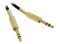 C2G Pro-Audio 12ft Pro-Audio 1/4in TRS Male to 1/4in TRS Male Cable