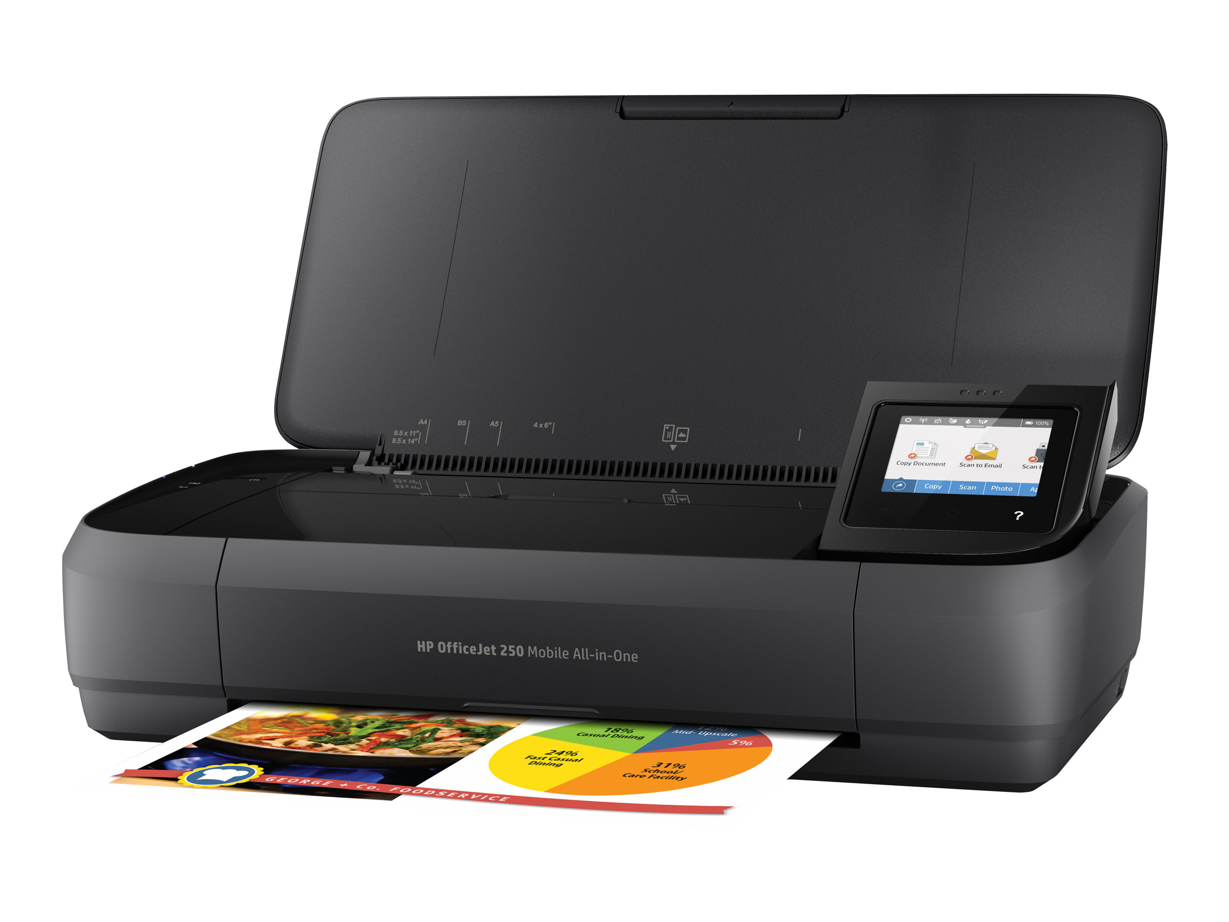 HP Officejet 250 Mobile All-in-One - imprimante portable ... 68f6314a25c3
