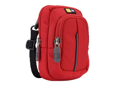 Case Logic Compact Camera Case with storage DCB-302 - Tasche Kamera - Polyester - Rot