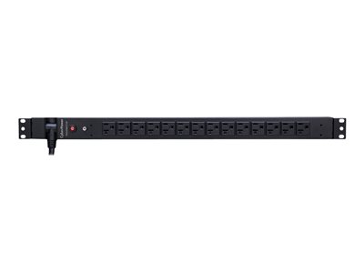 CyberPower Basic Series PDU20BVT14F Power distribution unit (rack-mountable) AC 120 V
