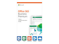 Microsoft Office 365 Business Premium - Version boîte (1 an)