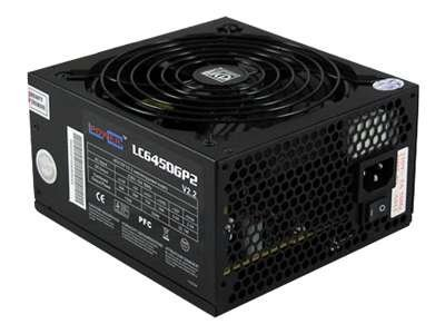 LC Power Silent Giant Green Power LLC6450GP2 V2.2 - Stromversorgung (intern) - ATX12V 2.2 - 450 Watt - PFC