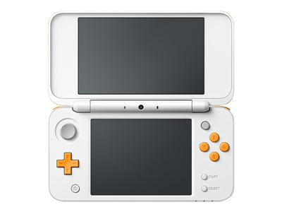 New Nintendo 2DS XL Hvid Orange