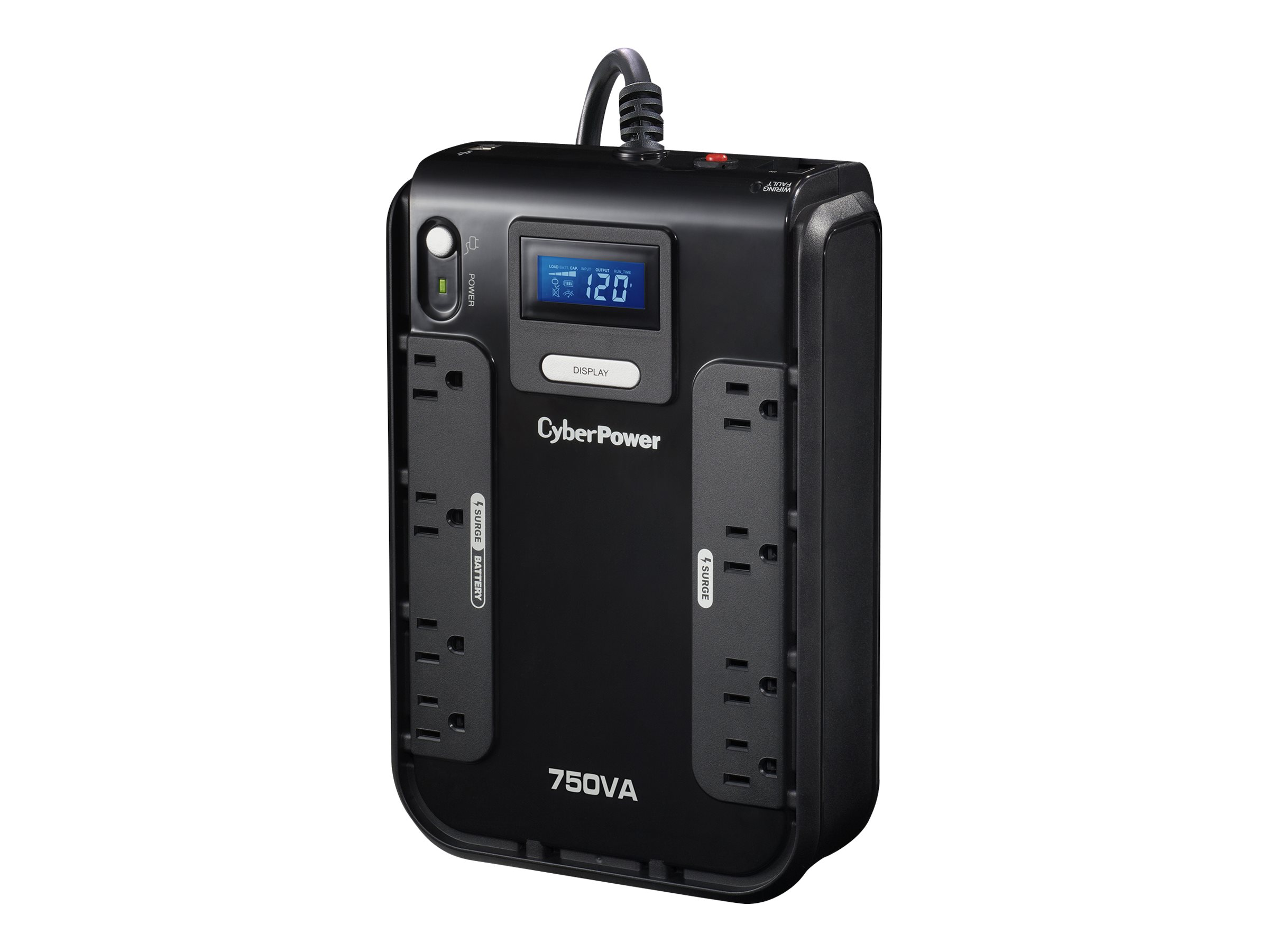 CyberPower Intelligent LCD CP750LCD - UPS - 420 Watt - 750 VA