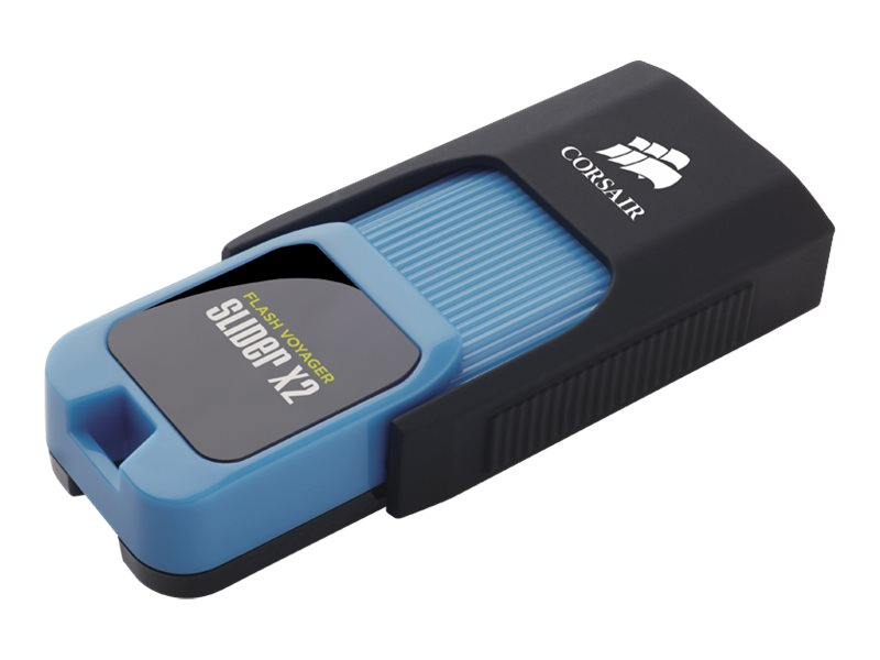Corsair Flash Voyager Slider X2 - USB-Flash-Laufwerk - 64 GB - USB 3.0
