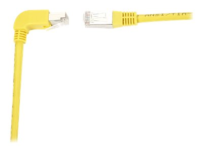 Black Box SpaceGAIN Down to Straight - patch cable - 91.4 cm - yellow